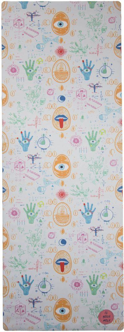 esterilla caucho microfibra ojos