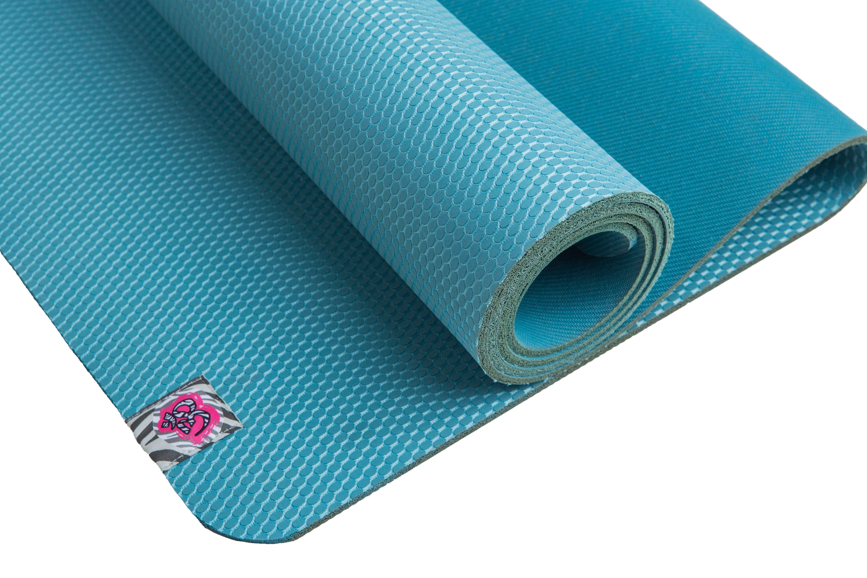 Natural Rubber Yoga Mat * El Yoga Mola * Reversible
