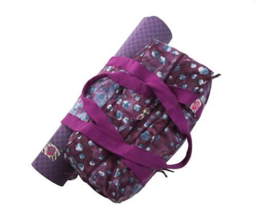 Pack Esterilla + Cinturón + Bolso Yoga Morado
