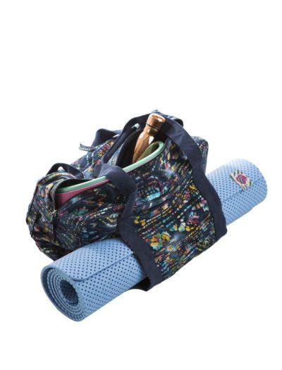 bolso yoga azul