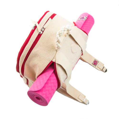 mochila algodón portaesterilla