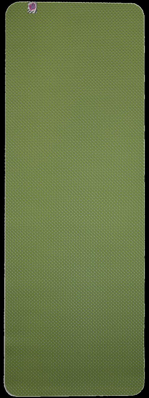 esterilla yoga antideslizante verde
