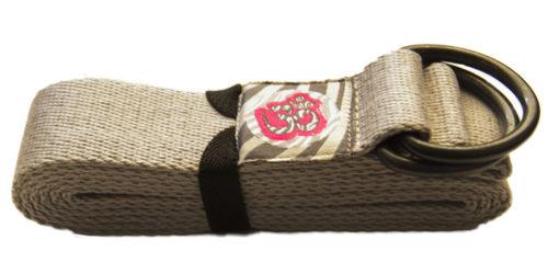 cinturon yoga gris claro