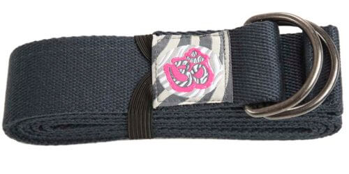 cinturon yoga gris