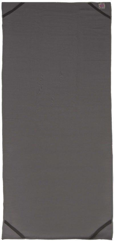 toalla yoga gris