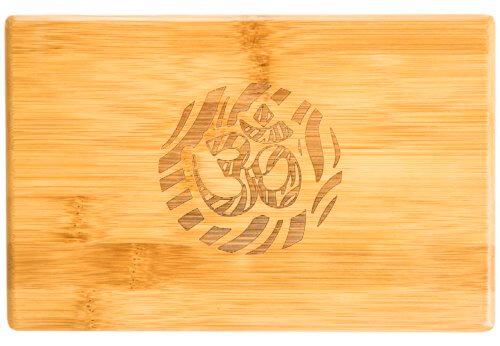 bloque yoga madera