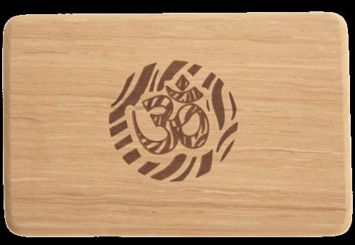 ladrillo yoga madera imitacion