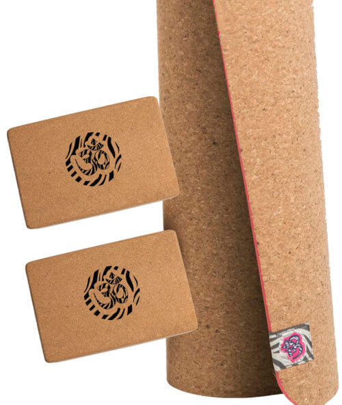 Pack Corcho Yoga ROSA