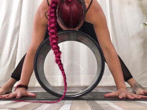 iniciación a la rueda de yoga